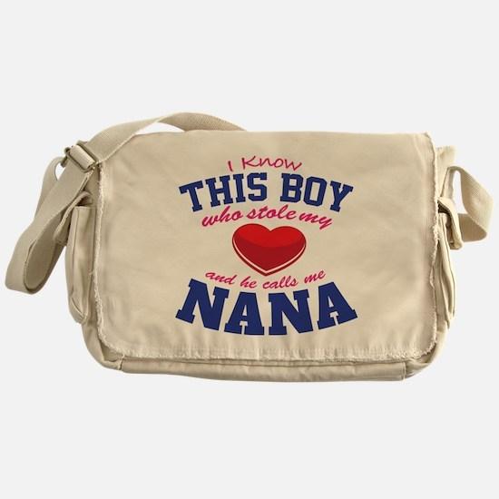 Cute Funny holiday Messenger Bag