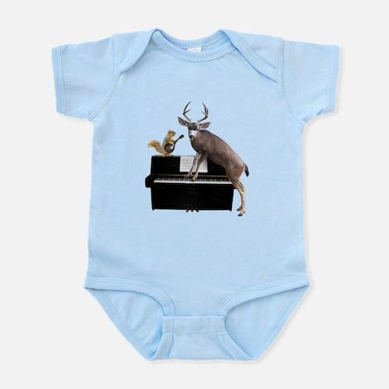 Deer Piano Body Suit