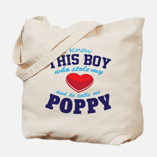 Cute Poppy Tote Bag