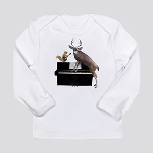 Deer Piano Long Sleeve T-Shirt