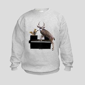 Deer Piano Sweatshirt