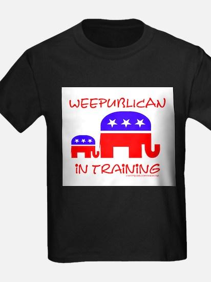 weepublican in training Kids T-Shirt