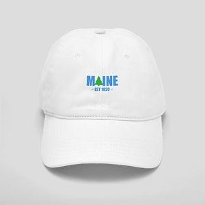 MAINE - EST 1820 PINE TREE Baseball Cap
