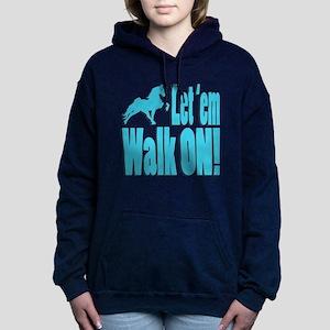 Walk_on_babyblue Sweatshirt