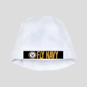 U.S. Navy: Fly Navy (Black) baby hat