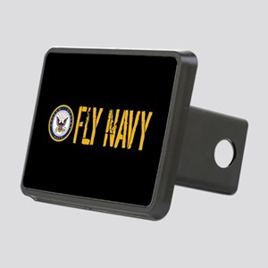 U.S. Navy: Fly Navy (Black Rectangular Hitch Cover