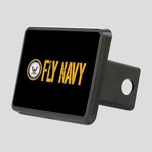 U.S. Navy: Fly Navy (Black Rectangular Hitch Cover