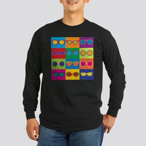 Sunglasses Checkerboard Long Sleeve T-Shirt