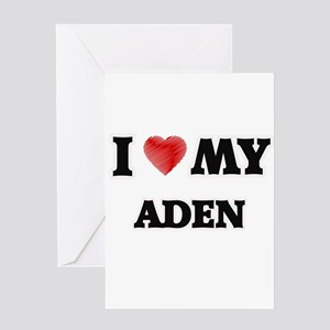 I love my Aden Greeting Cards