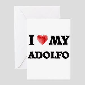 I love my Adolfo Greeting Cards