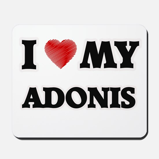 I love my Adonis Mousepad