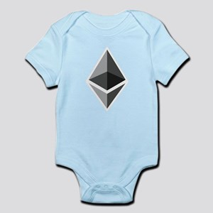 HD Ethereum Official Logo Ethereum Coin Body Suit