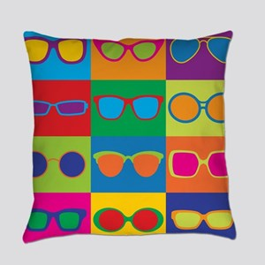 Sunglasses Checkerboard Everyday Pillow