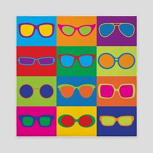 Sunglasses Checkerboard Queen Duvet