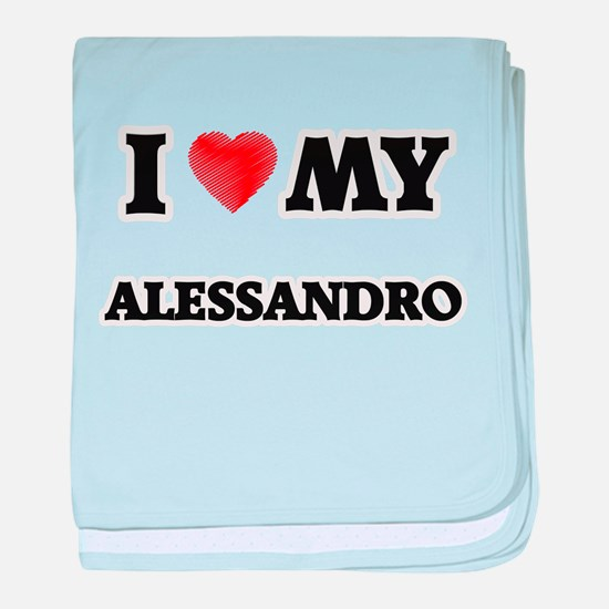 I love my Alessandro baby blanket