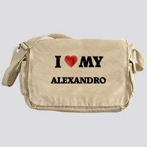 I love my Alexandro Messenger Bag