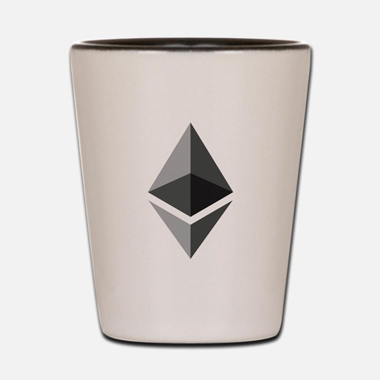 HD Ethereum Official Logo Ethereum Coin Shot Glass