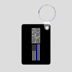 Police: Proud Girlfriend ( Aluminum Photo Keychain