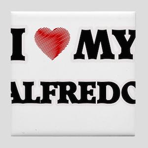 I love my Alfredo Tile Coaster