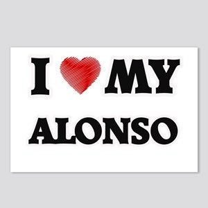I love my Alonso Postcards (Package of 8)