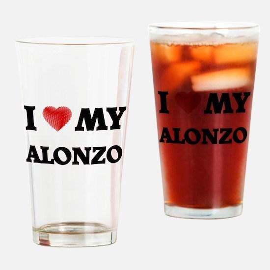 I love my Alonzo Drinking Glass