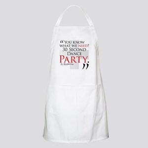 30 Second Dance Party Apron
