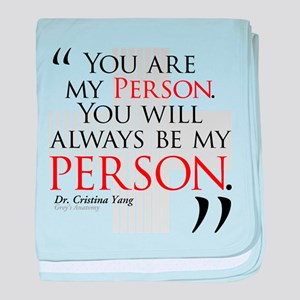 You Are My Person Infant Blanket