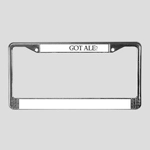 Got Ale? License Plate Frame