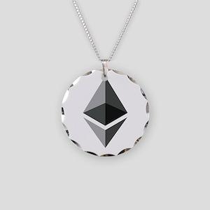 HD Ethereum Official Logo Et Necklace Circle Charm