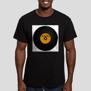 Vinyl Record Ash Grey T-Shirt