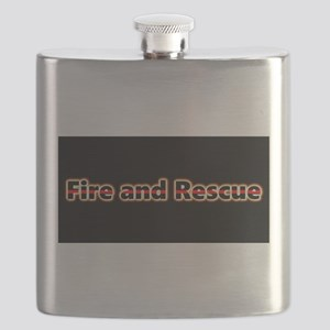 Fire and Rescue Glow Flask