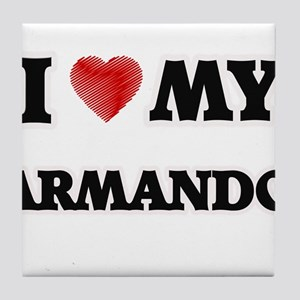 I love my Armando Tile Coaster