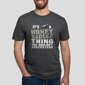 Honey Badger Thing -dk T-Shirt