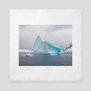 Iceburg Blue Queen Duvet