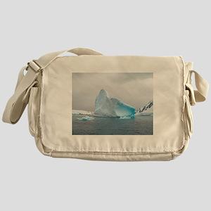 Iceburg Blue Messenger Bag
