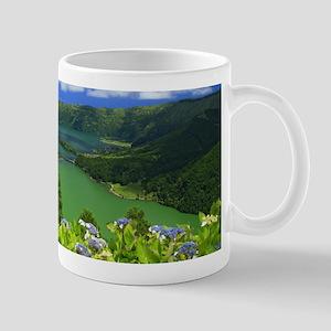 Sete Cidades crater Mugs