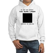 Quad Laser Hooded Sweatshirt