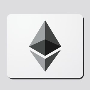 HD Ethereum Official Logo Ethereum Coin Mousepad