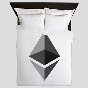 HD Ethereum Official Logo Ethereum Coi Queen Duvet