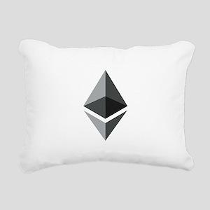 HD Ethereum Official Log Rectangular Canvas Pillow