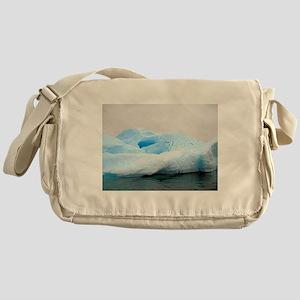 Iceburg Sculpture Messenger Bag