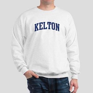 KELTON design (blue) Sweatshirt