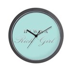 If I Was A Rich Girl Wall Clock
