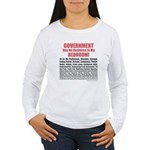 Gov't. Out Women's Long Sleeve T-Shirt