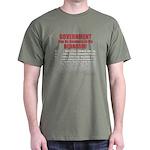 Gov't. Out Dark T-Shirt