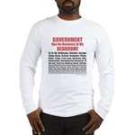 Gov't. Out Long Sleeve T-Shirt