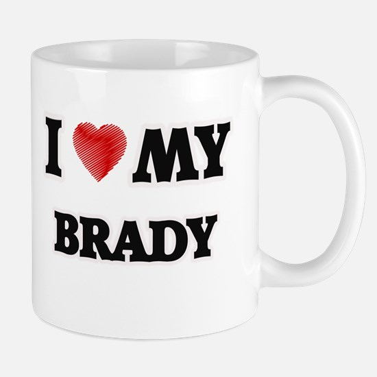 I love my Brady Mugs