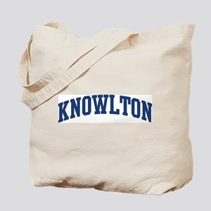 KNOWLTON design (blue) Tote Bag