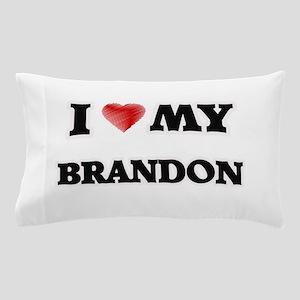 I love my Brandon Pillow Case