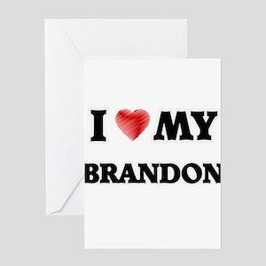 I love my Brandon Greeting Cards